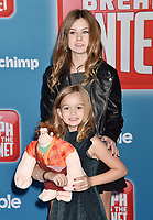 HOLLYWOOD, CA - NOVEMBER 05: Chloe Clem and Lily Clem attend the Premiere Of Disney's 'Ralph Breaks The Internet' at the El Capitan Theatre on November 5, 2018 in Los Angeles, California.<br /> CAP/ROT/TM<br /> &copy;TM/ROT/Capital Pictures