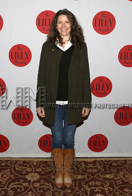 Edie Brickell backstage at The Lilly Awards Broadway Cabaret'   at The Cutting Room on November 9, 2015 in New York City.
