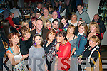 49 again: Tina Lynch(front centre)of Riverside Dr,Tralee had a ball celebrating her 50th birthday last Saturday night in Dantes(ex Val's)with her family and loads of friends..