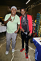MIAMI, FLORIDA - JANUARY 18: Trick Daddy and Michael Blackson backstage at the Miami Festival of Laughs at James L. Knight Center on January 18, 2020 in Miami, Florida.    ( Photo by Johnny Louis / jlnphotography.com )