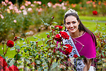 Offaly Rose, Jennifer Byrne newly crowned Rose of Tralee at a photocall in Tralee Town Park on Wednesday Morning.