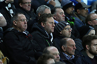 Swansea City fans during the Premier League match between Swansea City and Tottenham Hotspur at The Liberty Stadium, Swansea, Wales, UK. Wednesday 05 April 2017