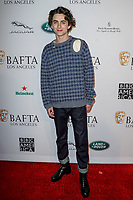 05 January 2019 - Los Angeles, California - Timothee Chalamet. the BAFTA Los Angeles Tea Party held at the Four Seasons Hotel Los Angeles. Photo Credit: AdMedia