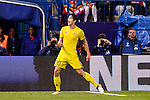 CF Rostov's player Sardar Azmoun celebrating a goal during a match of UEFA Champions League at Vicente Calderon Stadium in Madrid. November 01, Spain. 2016. (ALTERPHOTOS/BorjaB.Hojas)