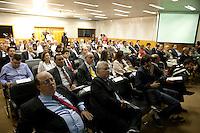 SAO PAULO, SP, 03 SETEMBRO 2012 -REFORMA DO FGTS, auditorio, durante apresentacao do relatorio sobre a Reforma do Fundo de Garantia por Tempo de Serviço (CASFGTS), aos empresarios e  diretoria da Fiesp ( Federacao das Industrias do Estado de Sao Paulo), na tarde desta segunda-feira, 03, na sede da Fiesp na regiao da avenida Paulista. FOTO: POLINE LYS - BRAZIL PHOTO PRESS