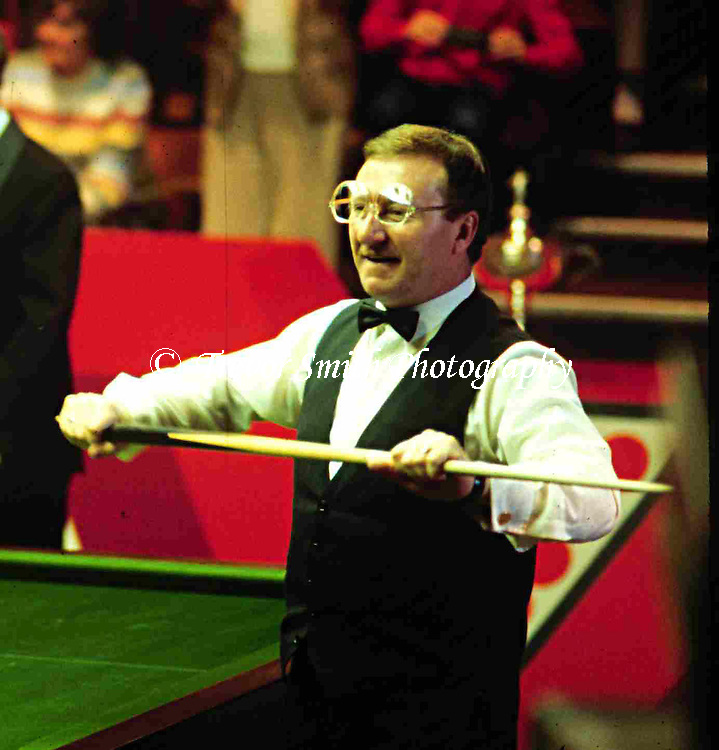 Dennis Taylor winning the 1985 World Snooker Championship at The Crucible Theatre, Sheffield against Steve Davis