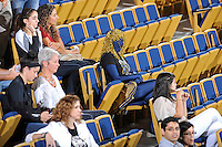 17 November 2011:  FIU fans show their spirit as the FIU Golden Panthers defeated the Denver University Pioneers, 3-1 (25-21, 23-25, 25-21, 25-18), in the first round of the Sun Belt Conference Tournament at U.S Century Bank Arena in Miami, Florida.