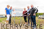 Maria O'Connor (assistant Treasurer), Pat Carmody (vice Chairman), Marie Reen (Director) Brendan O'Sullivan (Chairman Building Committee/Director) Finbarr Mawe (Tresurer/Director) at the site of the New Alzheimers Day Centre.