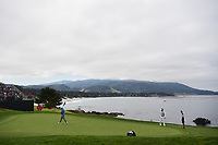 Bubba Watson (USA) looks over his putt on 8 during round 1 of the 2019 US Open, Pebble Beach Golf Links, Monterrey, California, USA. 6/13/2019.<br /> Picture: Golffile | Ken Murray<br /> <br /> All photo usage must carry mandatory copyright credit (© Golffile | Ken Murray)