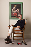 Jack Vettriano, artist, at his home in Battersea, London.<br /> 24-6-2017 Pic by Ian McIlgorm