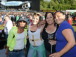 Tracy Dyas, Emma Martin, Cheryl Dyas and Tracy Smith pictured at the Bon Jovi concert at Slane Castle. Photo:Colin Bell/pressphotos.ie