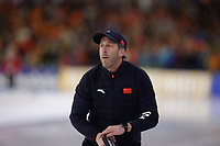 SCHAATSEN: HEERENVEEN: 07-03-2020, IJsstadion Thialf, ISU World Cup Final, Rutger Tijssen (coach China), ©foto Martin de Jong