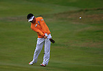 Y.E. Yang (KOR) in action on the 11th hole during Day 3 of the BMW PGA Championship Championship at, Wentworth Club, Surrey, England, 28th May 2011. (Photo Eoin Clarke/Golffile 2011)