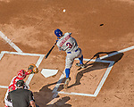 6 April 2015: New York Mets outfielder Curtis Granderson leads off the Season Opening Game against the Washington Nationals at Nationals Park in Washington, DC. The Mets rallied to defeat the Nationals 3-1 in their first meeting of the 2015 MLB season. Mandatory Credit: Ed Wolfstein Photo *** RAW (NEF) Image File Available ***