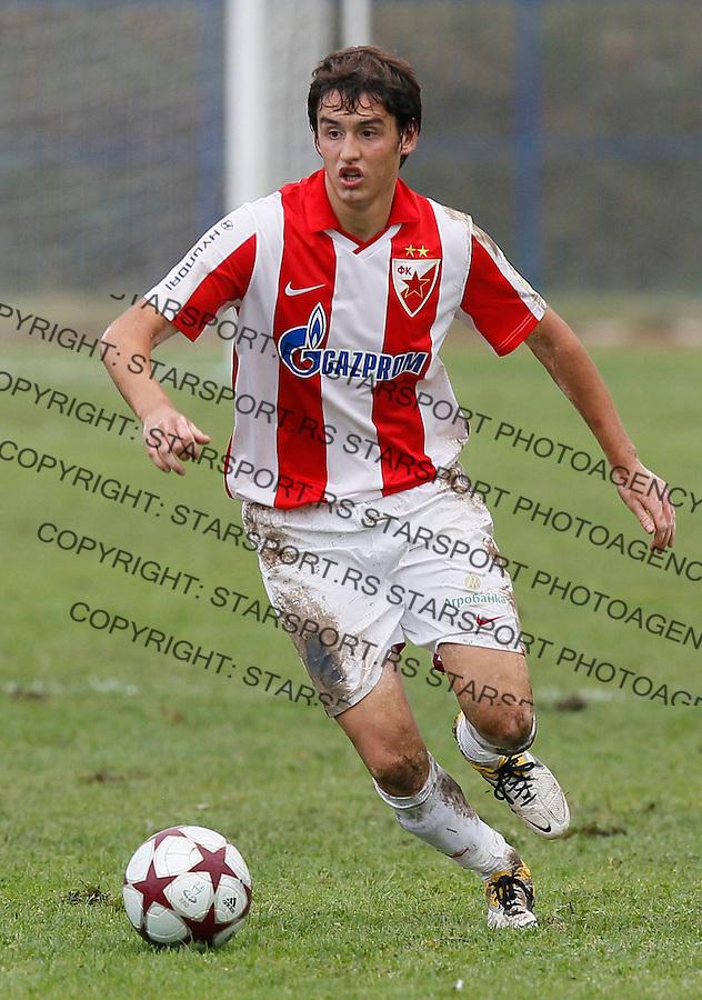 Fudbal, Kup Srbije sezona 2011/12.Mladost (Lucani) Vs. Crvena Zvezda.Srdjan Mijailovic.Lucani, 21.09.2011..foto: Srdjan Stevanovic/Starsportphoto ©