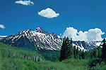 Mount Sneffels in the San Juan Mountains, Telluride, Colorado, USA. John guides custom photo tours in the Sneffels Range and throughout Colorado.