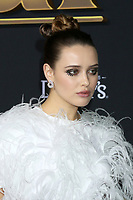 """LOS ANGELES - NOV 14:  Katherine Langford at the """"Knives Out"""" Premiere at Village Theater on November 14, 2019 in Westwood, CA"""