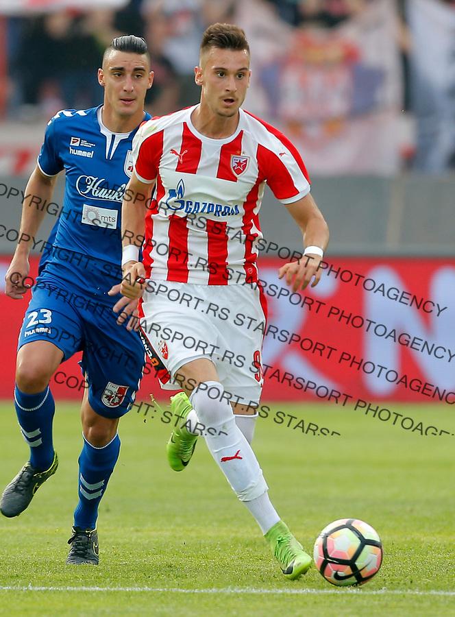 Vanja Vucicevic Crvena Zvezda - Radnicki Nis Super Liga Srbije 21.5.1017. MAJ 21. 2017. (credit image & photo: Pedja Milosavljevic / STARSPORT)