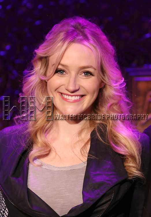 Betsy Wolfe perform a press preview of 'The Last 5 Years in Concert'  at 54 Below on September 23, 2013 in New York City.