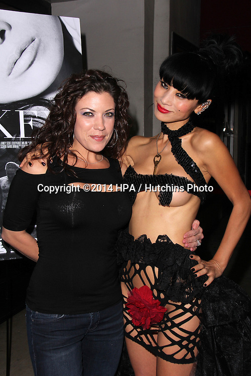 """LOS ANGELES - NOV 21:  Tiffany Shepis, Bai Ling at the """"The Key"""" Premiere at the Laemmle's Music Hall on November 21, 2014 in Beverly Hills, CA"""