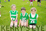 l-r  Eliza O'Donnell, Jack Purcell and Emily Brown from Ballydonoghue at the An Riocht  Community Games in Castleisland on Saturday
