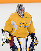 Jhonas Enroth - Buffalo Sabres prospects and other invitees took part in the 2008 Buffalo Sabres Prospect Camp on Sunday, June 29, 2008, at Niagara University's Dwyer Arena in Niagara University, New York.