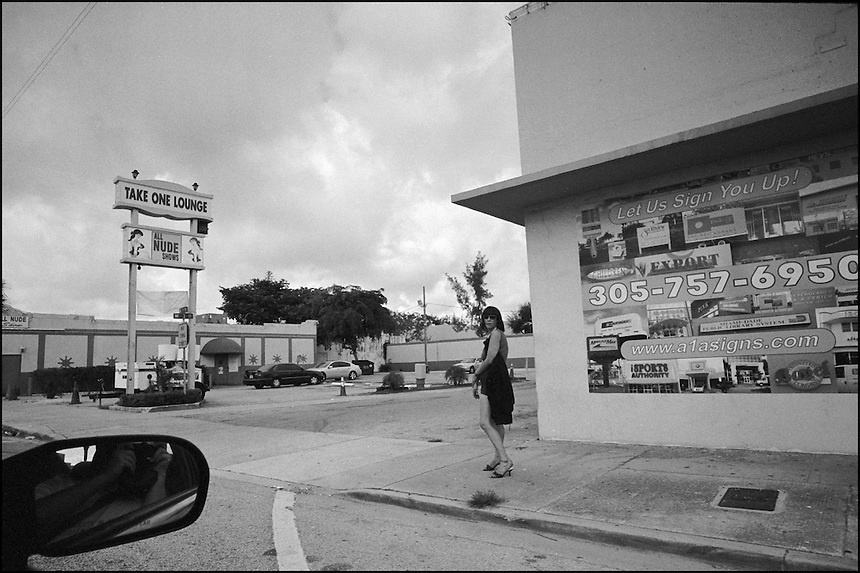 """NW 79th Street<br /> From """"Miami in Black and White"""" series. Miami, FL, 2008"""