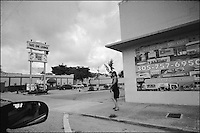 NW 79th Street<br /> From &quot;Miami in Black and White&quot; series. Miami, FL, 2008