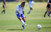 Irvine, CA - July 11, 2019: U.S. Soccer Girls' DA U-16/17 3rd Place Beach Futbol Club vs FC Dallas at Great Park.