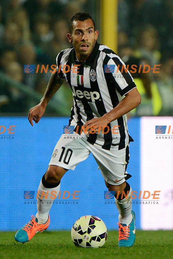 Carlos Tevez Juventus<br /> Bergamo 27-09-2014 Stadio Atleti Azzurri d'Italia - Football Calcio Serie A Atalanta - Juventus. Foto Giuseppe Celeste / Insidefoto