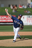 Jefri Hernandez - Texas Rangers 2016 spring training (Bill Mitchell)