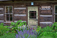 WASJ_D192 - USA, Washington, San Juan Islands, Orcas Island, Wildflowers in bloom at Orcas Island Historical Museum.