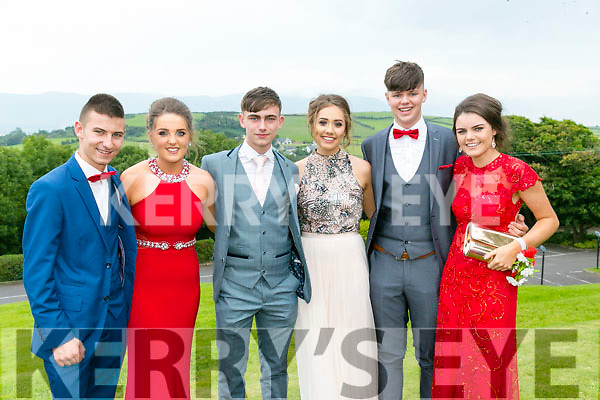 Enjoying the Colaiste Ide agus Iosef, Abbeyfeale  Debs at Ballyroe Heights Hotel on Tuesday were L-r   Mikey Costello, Megan Meehan, Gavin Buckley, Niamh Morris Gerard Maloney, Eva Collins