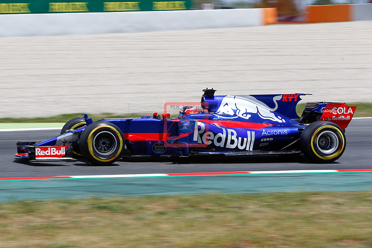 Spanish F1 Grand Prix Pirelli 2017.<br /> Daniil Kvyat (Toro Rosso).