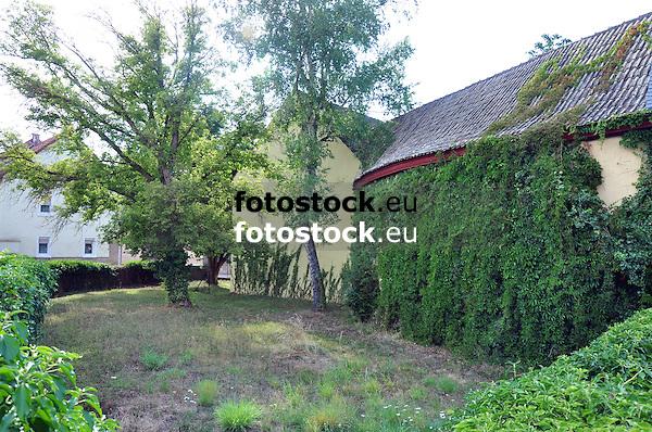 Schloss Hunolstein, ehemaliges Wasserschloss in Nieder-Wiesen, 18. Jh.