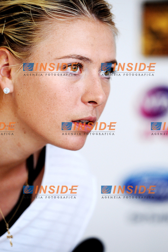 Maria Sharapova.Press Conference.Roma 14/05/2013 Foro Italico .Tennis Internazionali d'Italia 2013 .Foto Antonietta Baldassarre Insidefoto