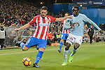 Jorge Resurreccion Merodio, Koke, of Atletico de Madrid in action during their La Liga match between Atletico de Madrid and RC Celta de Vigo at the Vicente Calderón Stadium on 12 February 2017 in Madrid, Spain. Photo by Diego Gonzalez Souto / Power Sport Images