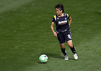 LA Sol's Aya Miyama. The LA Sol defeated the Washington Freedom 2-0 in the opening game of Womens Professional Soccer at Home Depot Center stadium on Sunday March 29, 2009.  .Photo by Michael Janosz