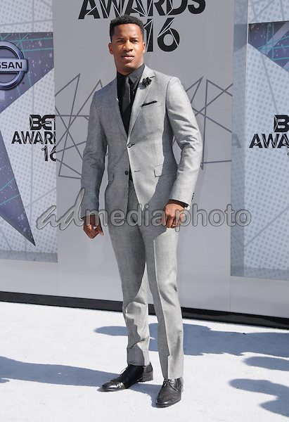 26 June 2016 - Los Angeles. Nate Parker. Arrivals for the 2016 BET Awards held at the Microsoft Theater. Photo Credit: Birdie Thompson/AdMedia