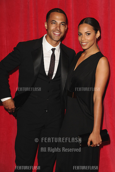 Marvin and Rochelle Humes arriving for the 2014 British Soap Awards, at the Hackney Empire, London. 24/05/2014 Picture by: Steve Vas / Featureflash