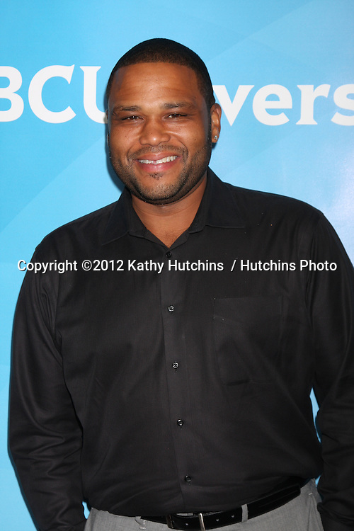 LOS ANGELES - JUL 24:  Anthony Anderson arrives at the NBC TCA Summer 2012 Press Tour at Beverly Hilton Hotel on July 24, 2012 in Beverly Hills, CA