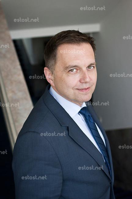 SLOWAKEI, 04.2017, Bratislava. Finanzminister Peter Kazimir an seinem Amtssitz. | Finance minister Peter Kazimir at his office.<br /> &copy; Martin Fejer/EST&amp;OST