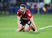 31st October 2017, Cardiff City Stadium, Cardiff, Wales; EFL Championship football, Cardiff City versus Ipswich Town; Cole Skuse of Ipswich Town looks dejected during the game