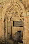 Israel, Jerusalem, a sabil at the Old City
