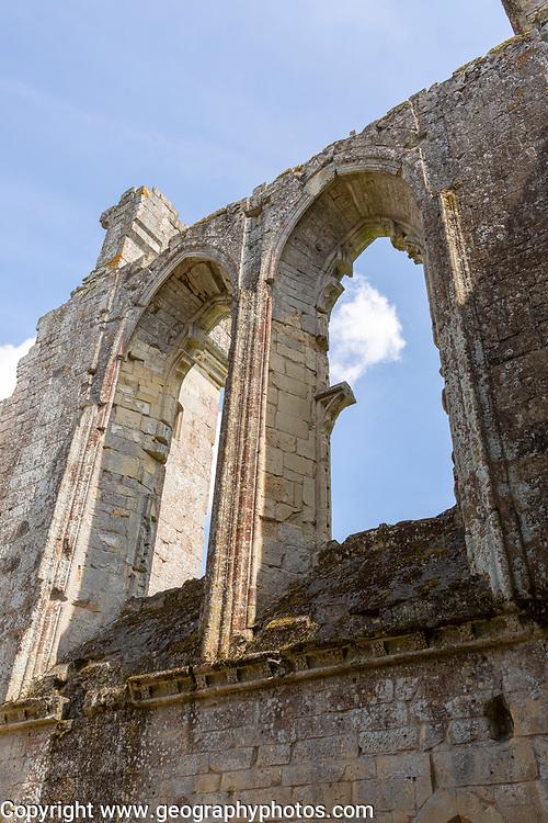 Ruins of Old Wardour castle, Wiltshire, England, UK
