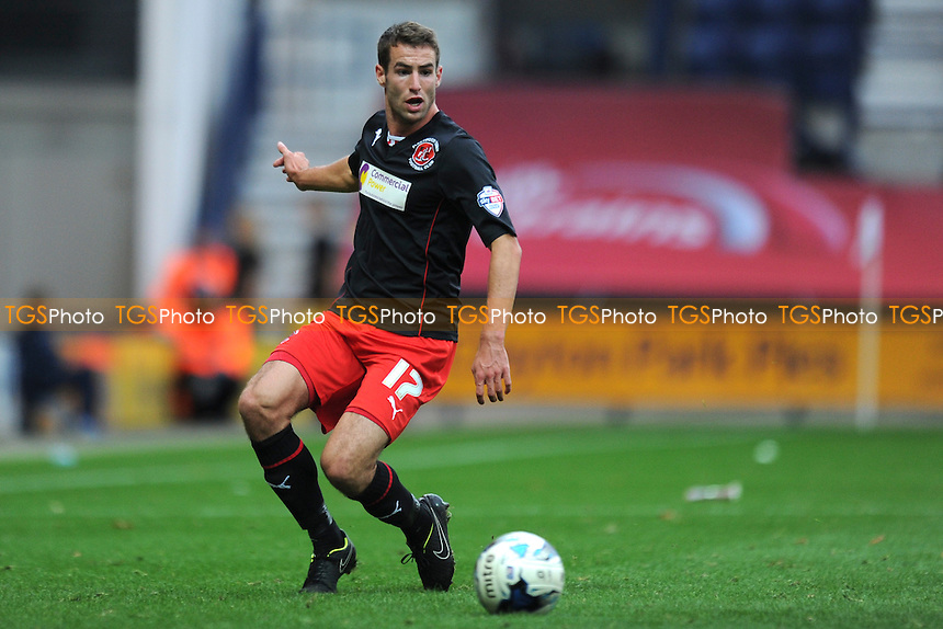 Matty Blair of Fleetwood Town - Preston North End vs Fleetwood Town - Sky Bet League One Football at Deepdale, Preston, Lancashire - 25/10/14 - MANDATORY CREDIT: Greig Bertram/TGSPHOTO - Self billing applies where appropriate - contact@tgsphoto.co.uk - NO UNPAID USE