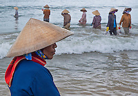 Vietnam with its coastline spanning over 3000km Vietnam is an ideal country to boast a strong seafood industry, including both aquaculture and open ocean fishing. Mũi Né is a coastal fishing town in the Bình Thuận Province of Vietnam. The town, with approximately 25,000 residents is a ward of the city of Phan Thiết. <br />