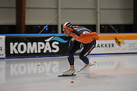 SCHAATSEN: LEEUWARDEN, 22-10-2016, Elfstedenhal, KNSB Trainingswedstrijden, Jan Blokhuijsen, ©foto Martin de Jong