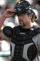 July 26 2009: Konrad Schmidt of the Visalia Rawhide during game against the Inland Empire 66'ers at Arrowhead Credit Union Park in San Bernardino,CA..Photo by Larry Goren/Four Seam Images