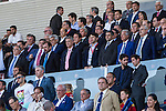 Getafe CF President's, Angel Torres and Jose Msris during the up match between Spain and Georgia before the Uefa Euro 2016.  Jun 07,2016. (ALTERPHOTOS/Rodrigo Jimenez)